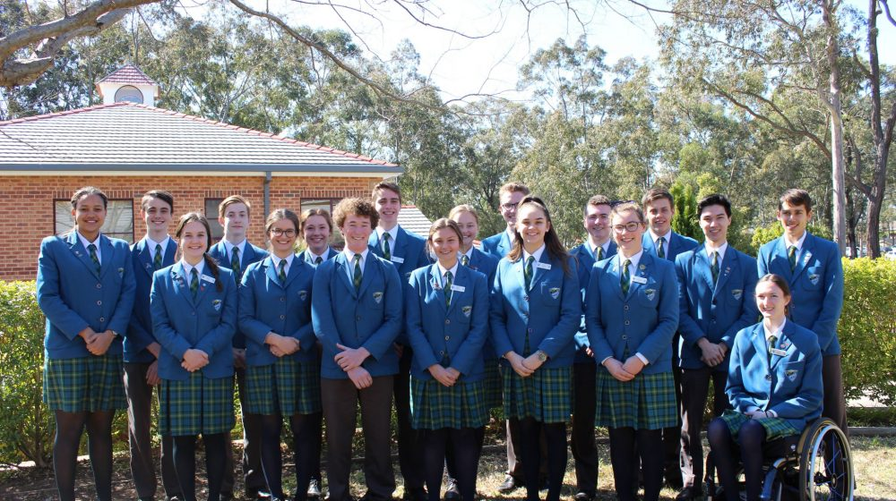 school prefects in group