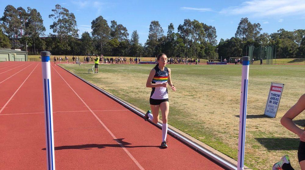 Kaitlyn running