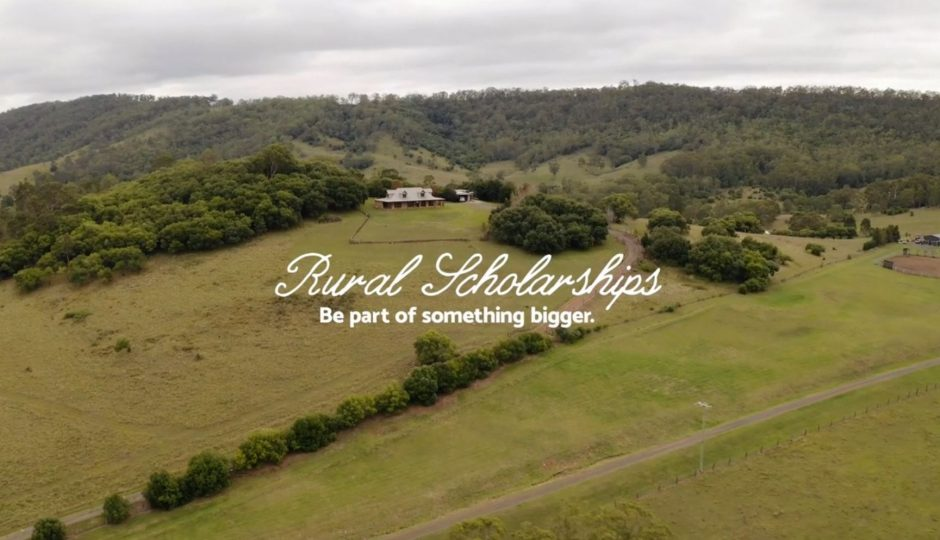 Drone footage of homestay home