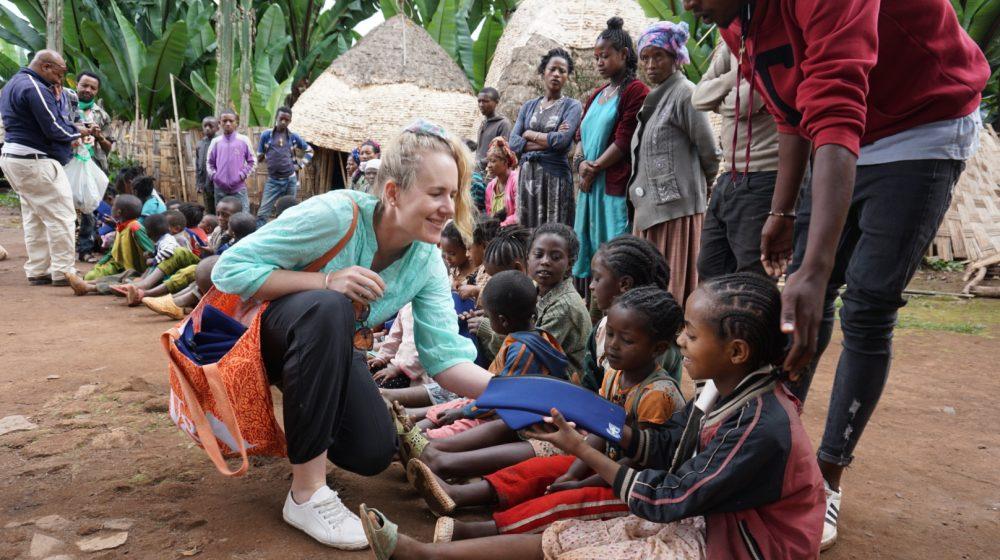 Catherine Minifie in Ethiopia