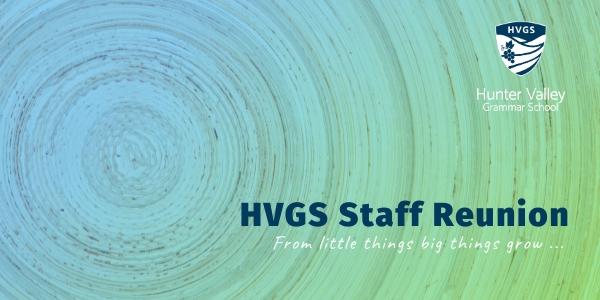 HVGs Staff Reunion