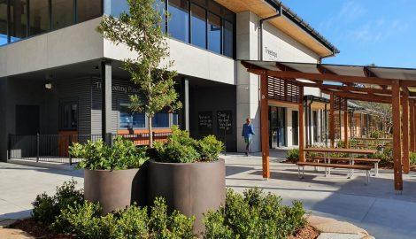HVGS cafeteria building